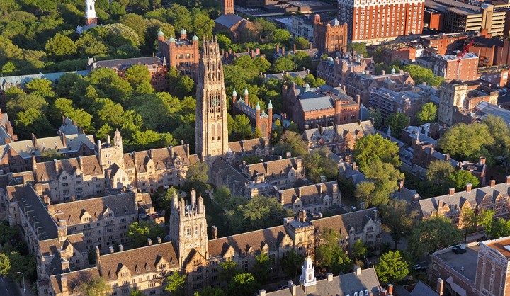 Aerials of Yale Campus