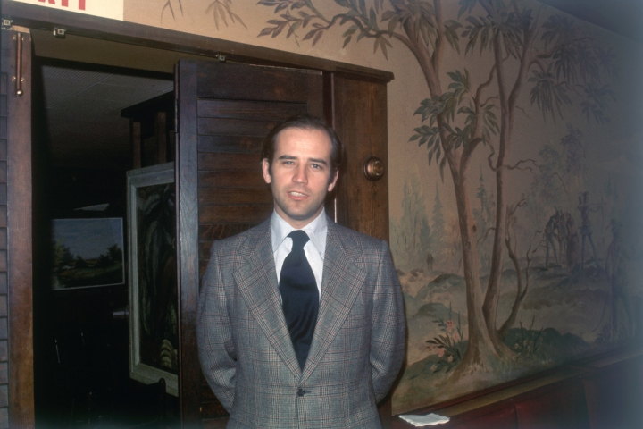 Sen. Joe Biden in Wilmington, Delaware, January 1973.